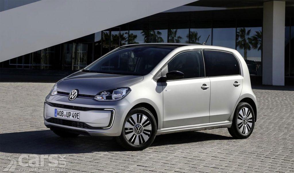 Электромобиль Volkswagen за 18000 фунтов стерлингов