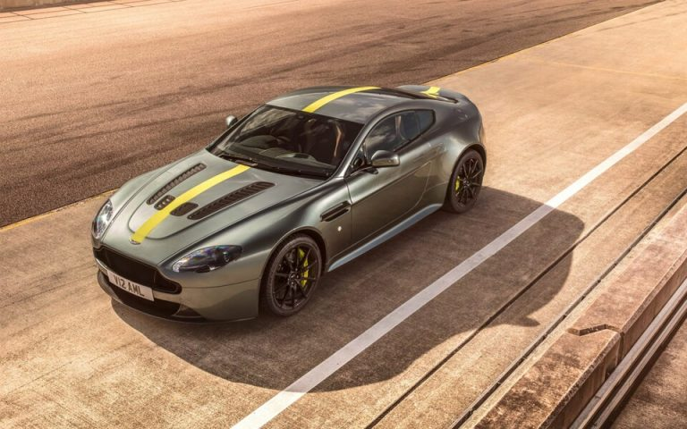 Новый Aston Martin Vantage AMR